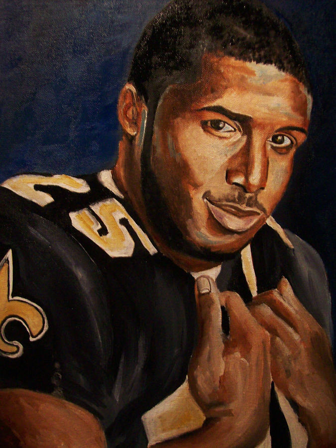 Reggie Bush Painting  - Reggie Bush Fine Art Print
