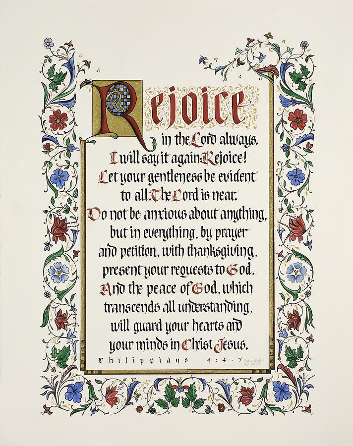 Rejoice II Painting