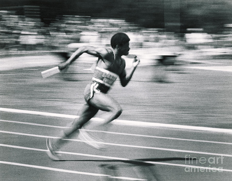 Relay Runner Photograph  - Relay Runner Fine Art Print