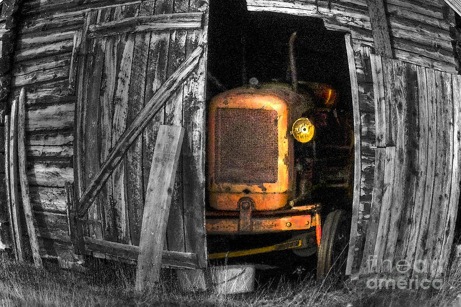 Relic From Past Times Photograph  - Relic From Past Times Fine Art Print