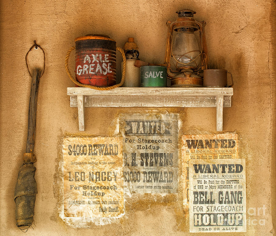 Southwest Photograph - Relics Of The Old West by Sandra Bronstein