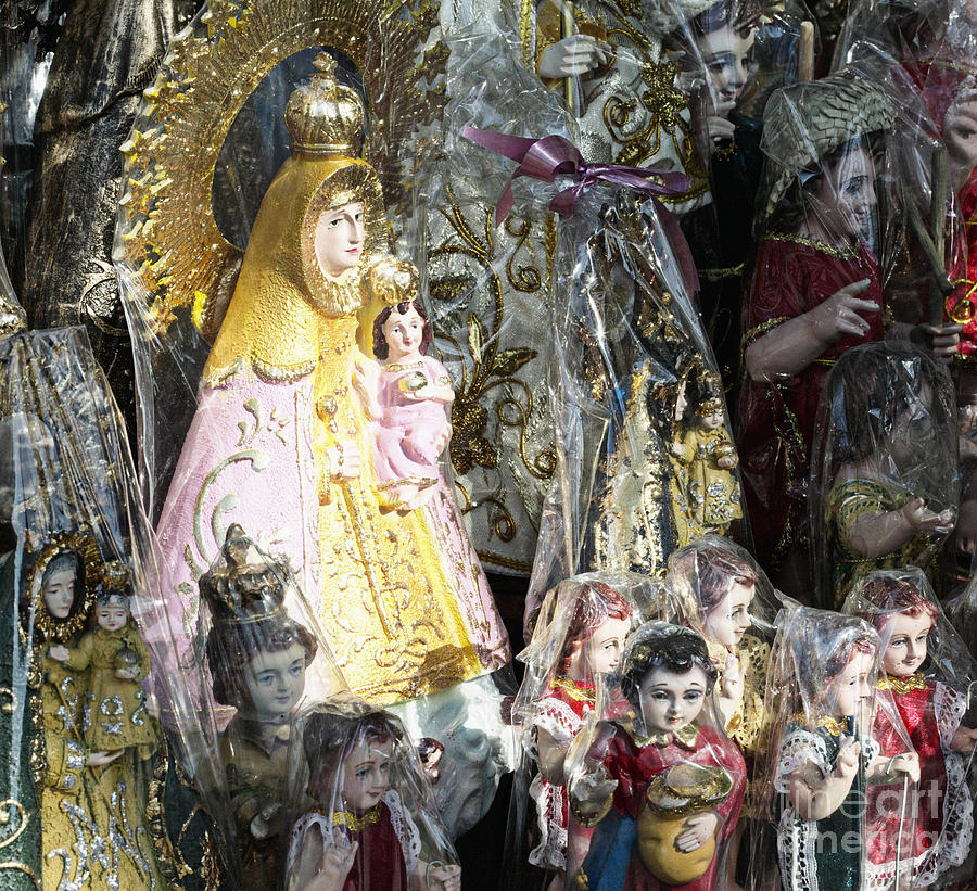 Religious Statuettes For Sale Photograph