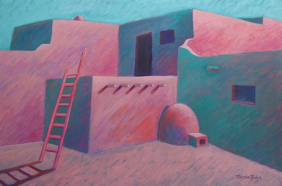 Remembering New Mexico Painting  - Remembering New Mexico Fine Art Print