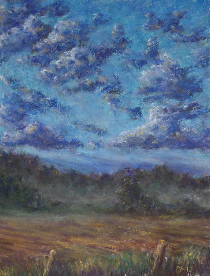 Remnants Of An Early Morning Storm Painting