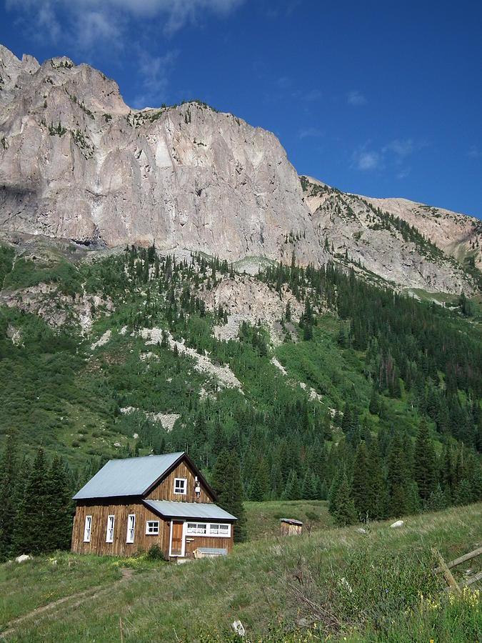 Remote Cabin Photograph