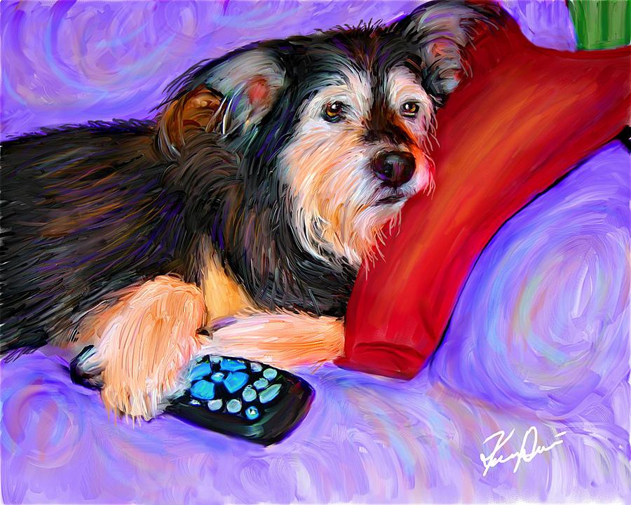 Remote Controller Digital Art