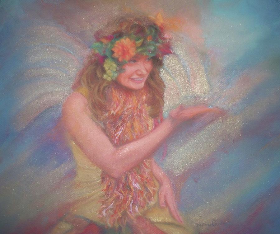 Renaissance Festival Fairy Pastel