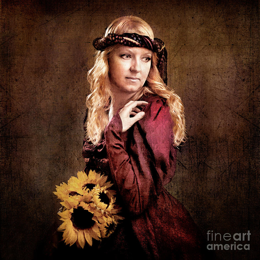 Painting Photograph - Renaissance Portrait by Cindy Singleton