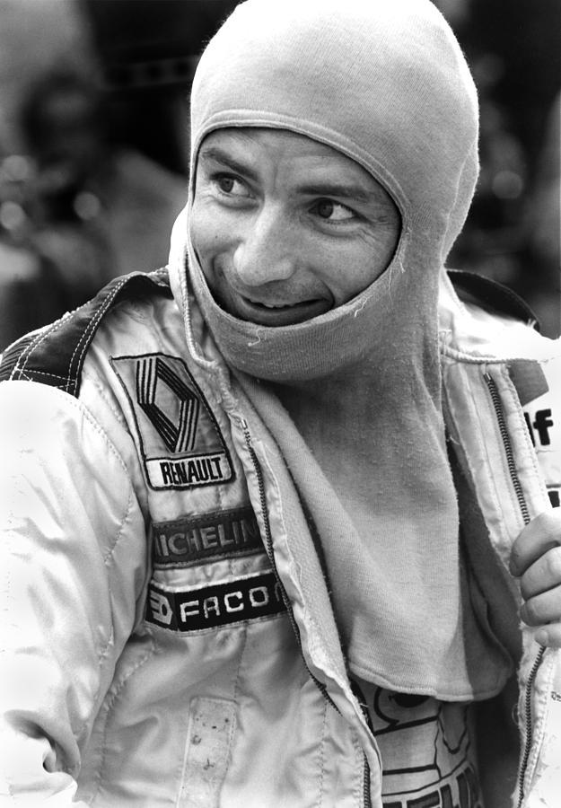 Ren� Arnoux Photograph - Rene Arnoux by Mike Flynn