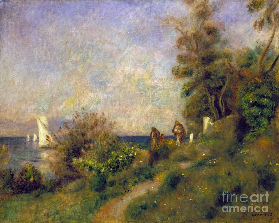 Renoir: Antibes, 1888 Photograph