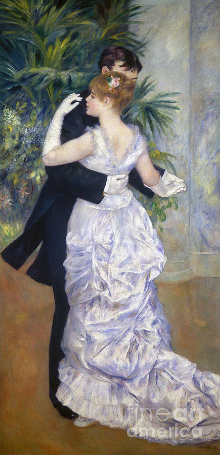 Renoir: Town Dance, 1883 Photograph