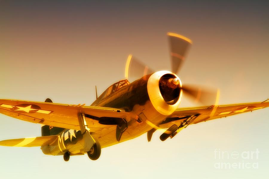Republic P-47 Thunderbolt 2011 Chino Air Show Photograph  - Republic P-47 Thunderbolt 2011 Chino Air Show Fine Art Print
