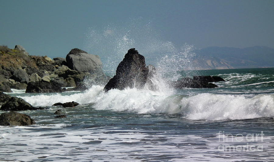 Pacific Ocean Photograph - Resistance by David Grower