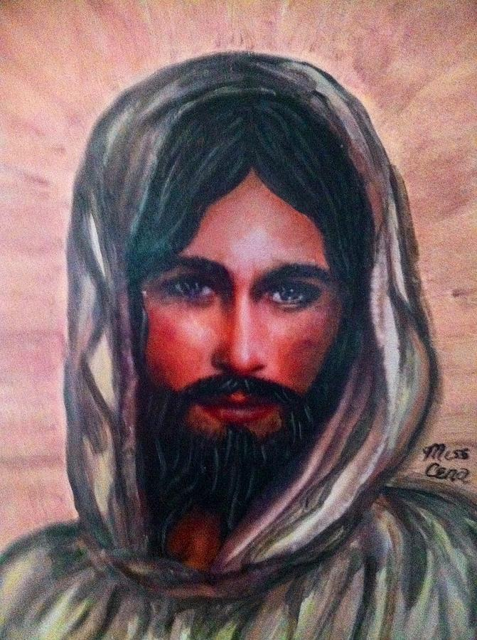 Resurrected Jesus Painting