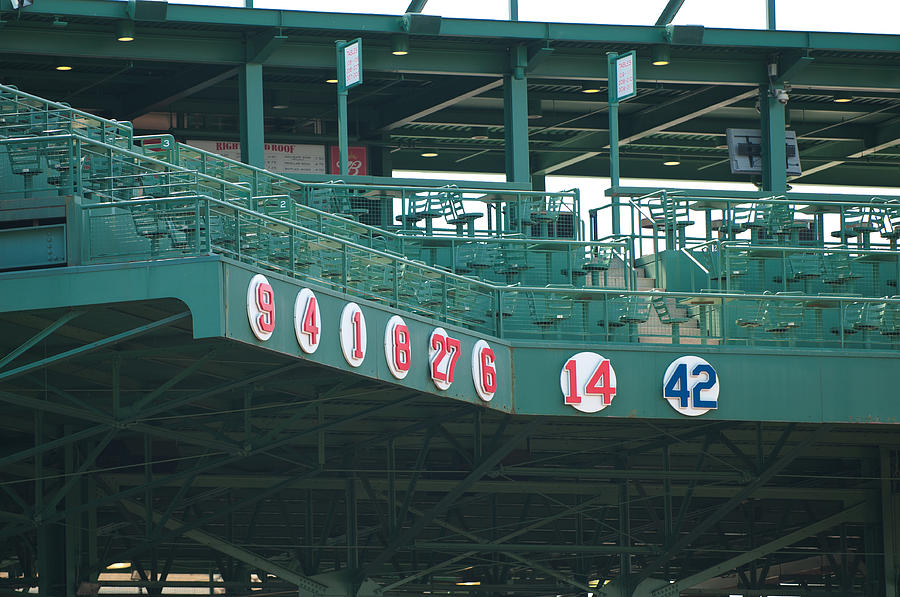 Retired Numbers Photograph