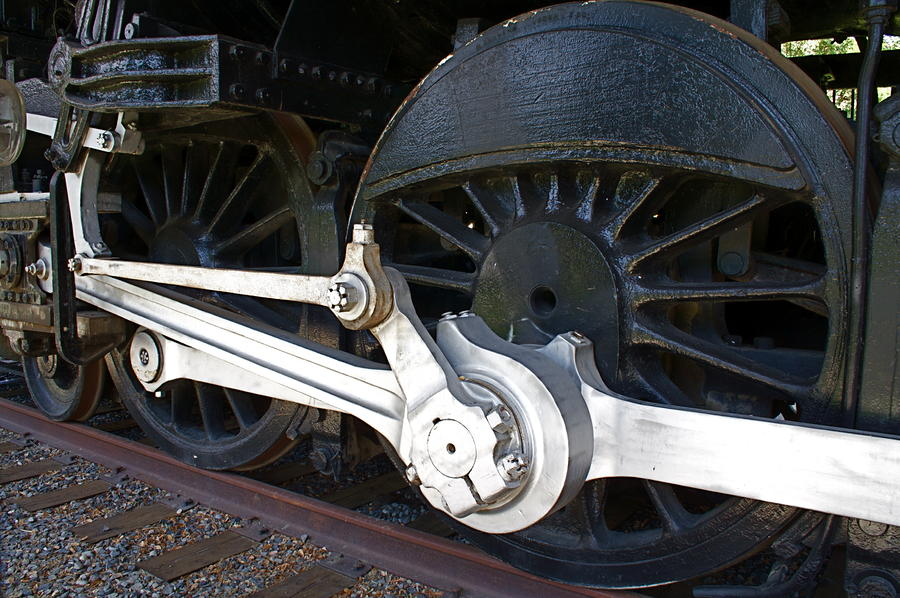 Retired Wheels Photograph