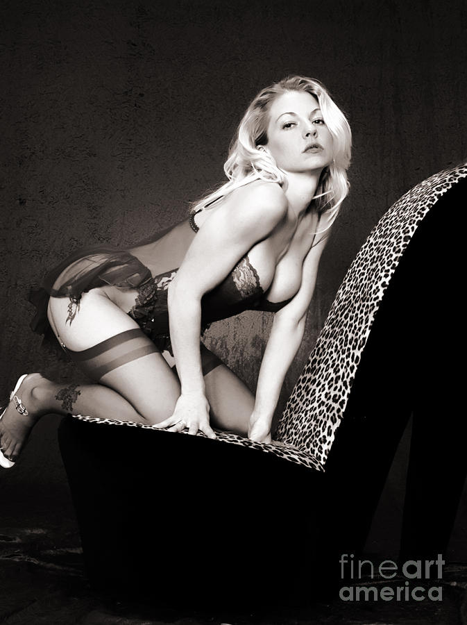 Retro Pinup Photograph