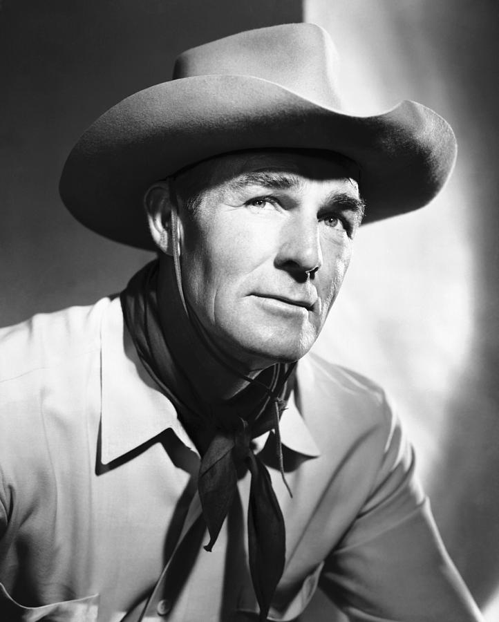 Return Of The Bad Men, Randolph Scott Photograph