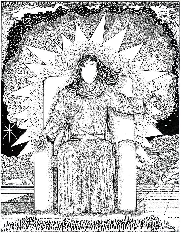 Revelation 20 Drawing
