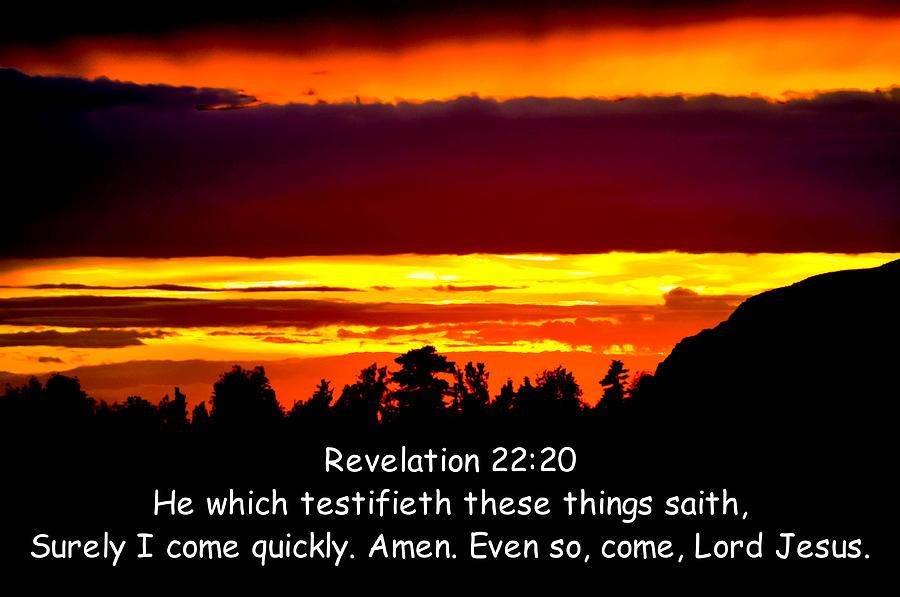 revelation 22 20 kjv