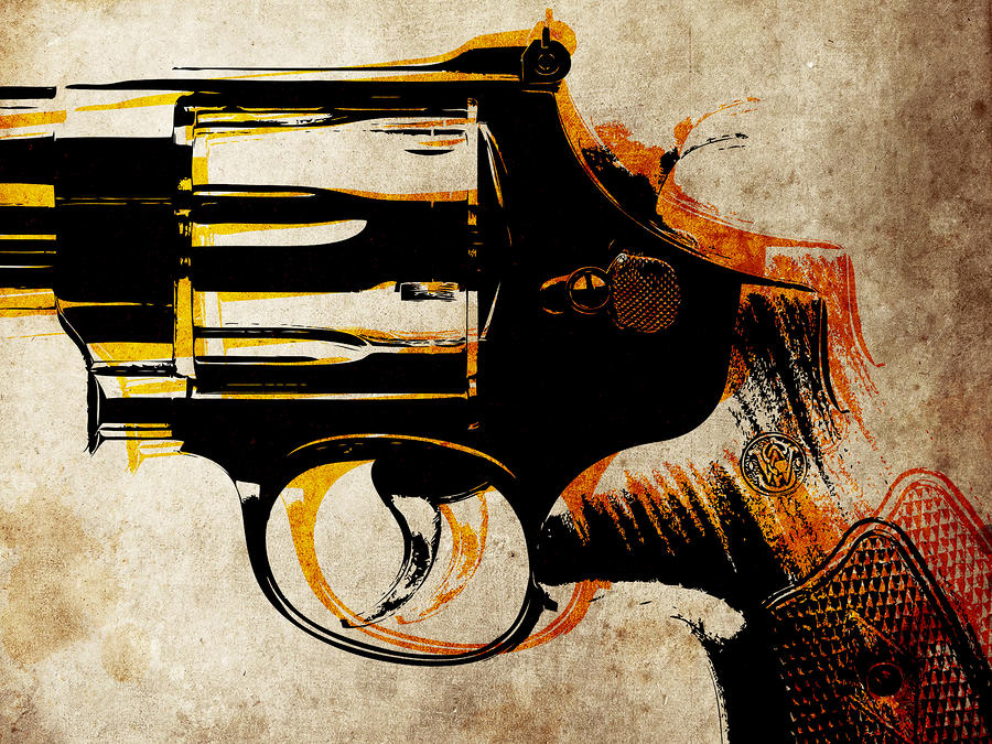 Revolver Trigger Digital Art
