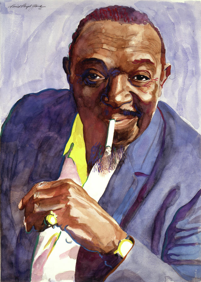 Rex Stewart Jazz Man Painting