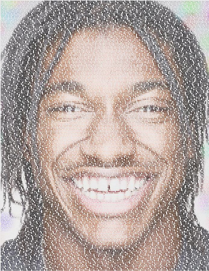 Rg3 Greatest Redskins Mosaic Digital Art
