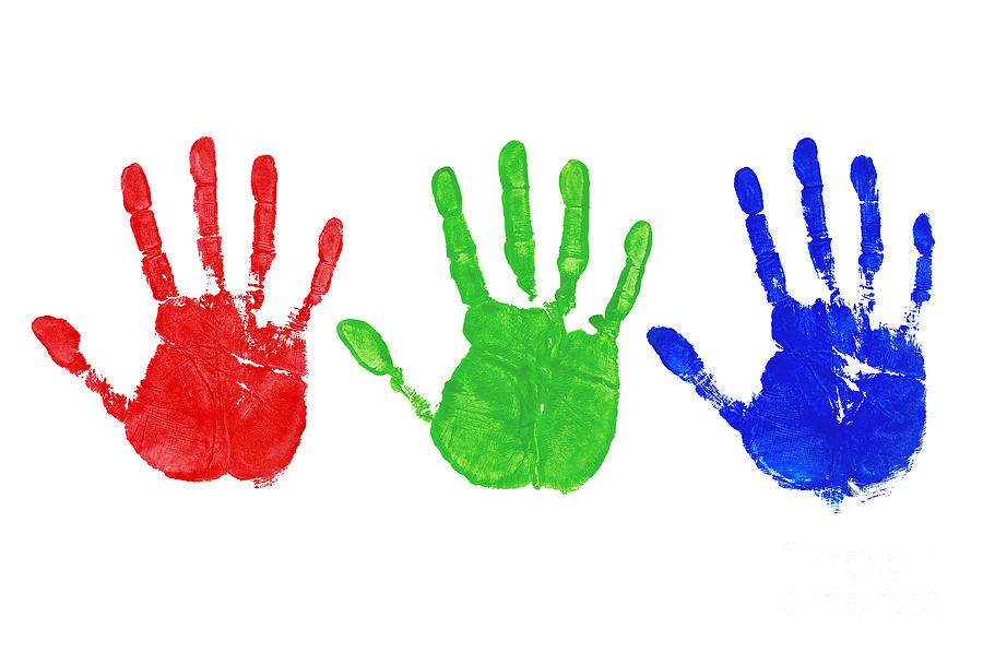 Rgb Hand Prints is a p...