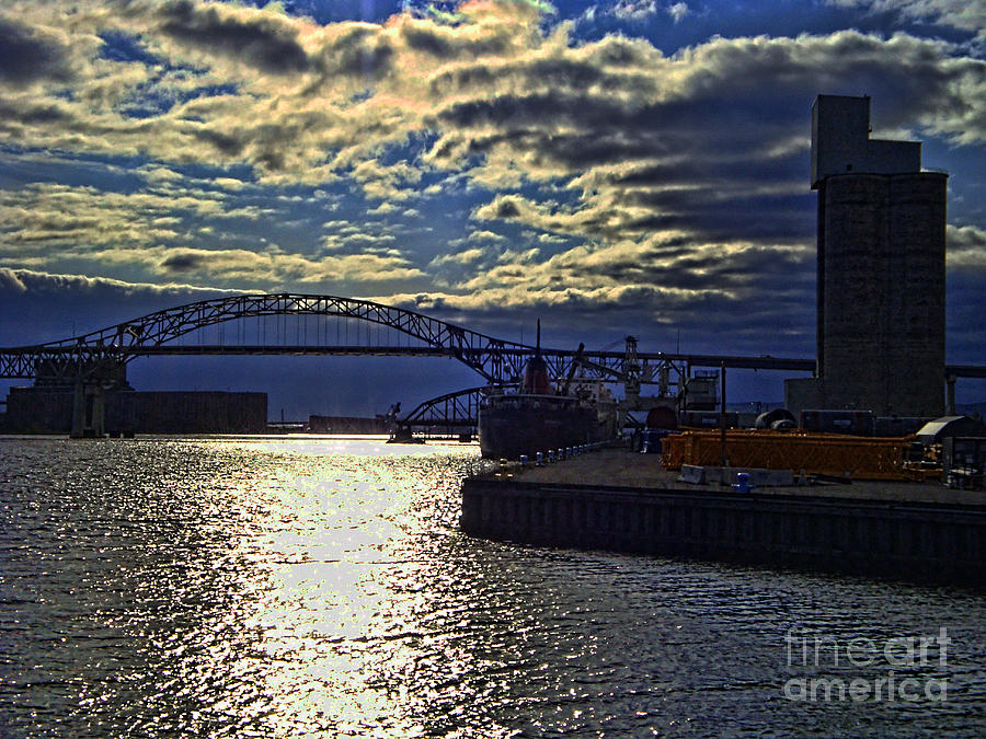 Richard I Bong Memorial Bridge Photograph  - Richard I Bong Memorial Bridge Fine Art Print