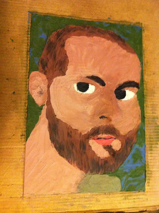 Rick In Clay Relief