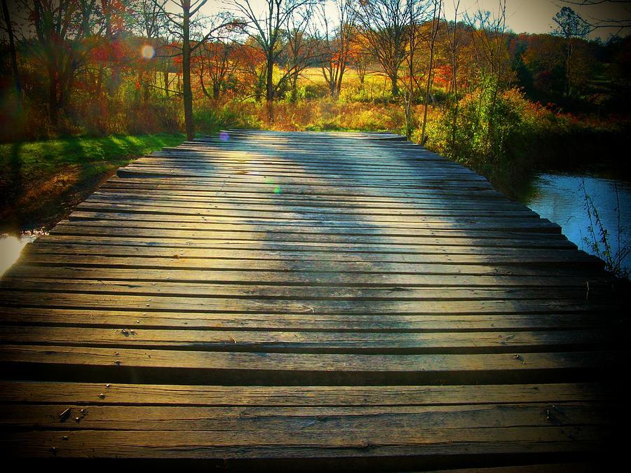Rickety Bridge Photograph
