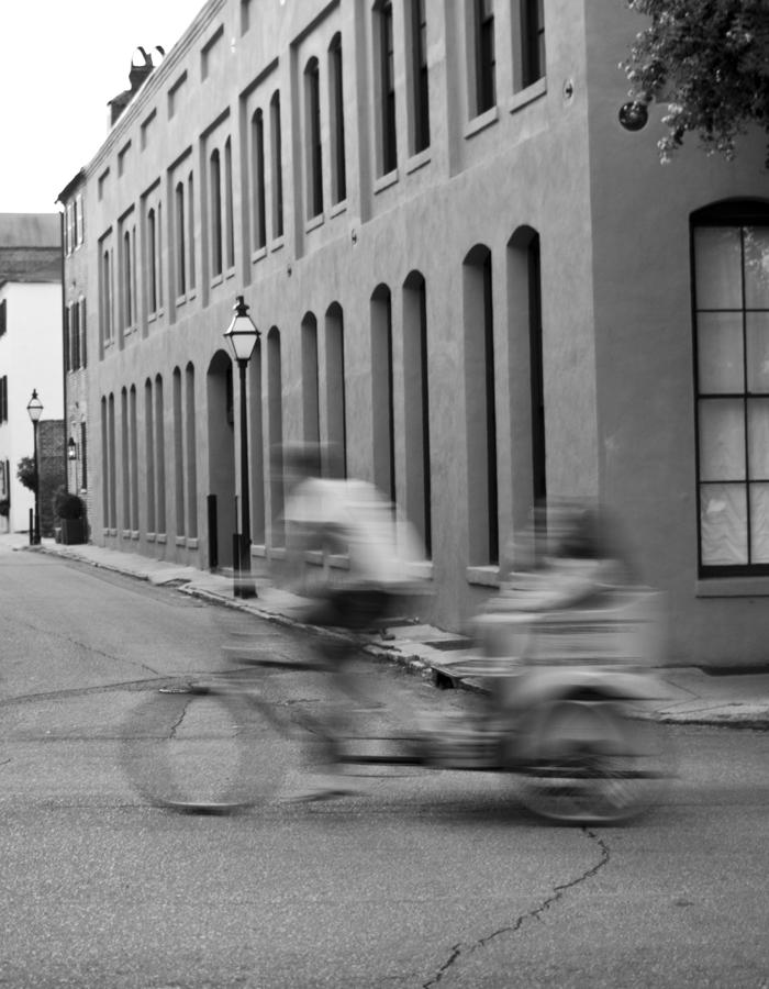 Rickshaw Speed Photograph  - Rickshaw Speed Fine Art Print
