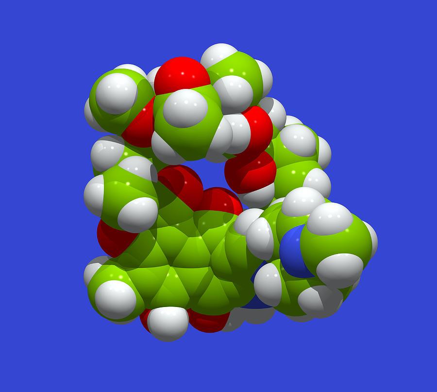 Rifampicin Antibiotic Molecule Photograph