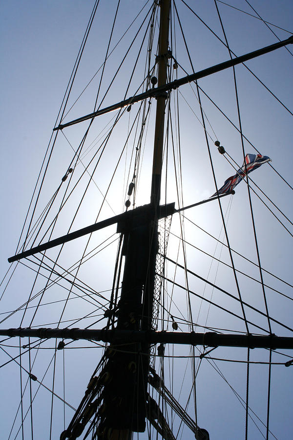 Rigging Photograph  - Rigging Fine Art Print