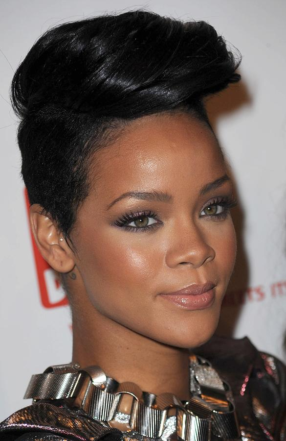 Rihanna At Arrivals For The 3rd Annual Photograph  - Rihanna At Arrivals For The 3rd Annual Fine Art Print
