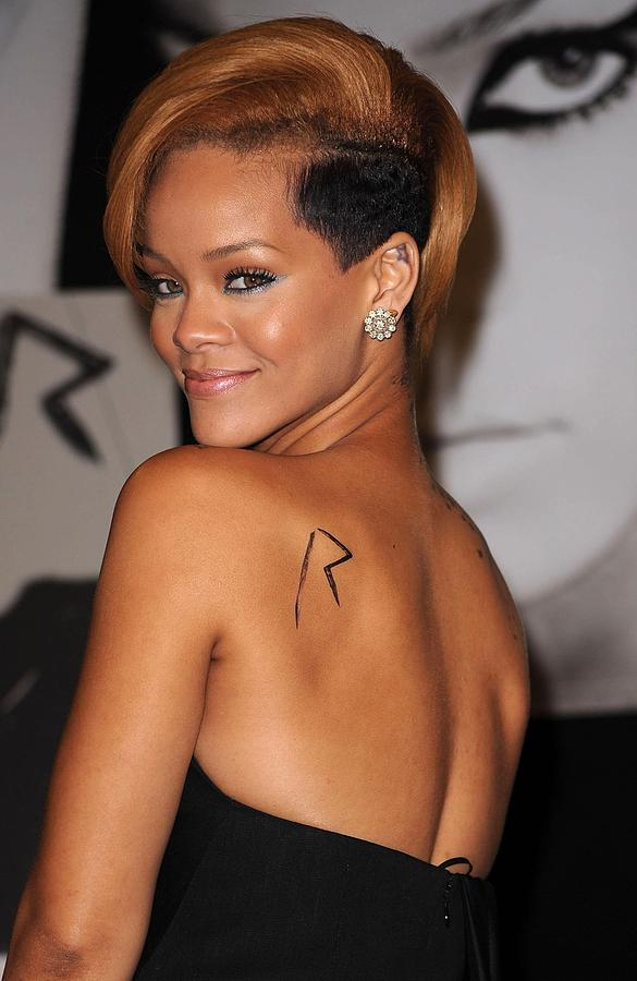 Rihanna At In-store Appearance Photograph