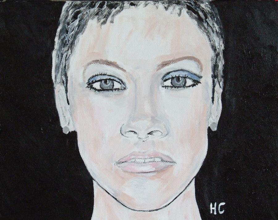 Pop Painting - Rihanna by Horace Cornflake