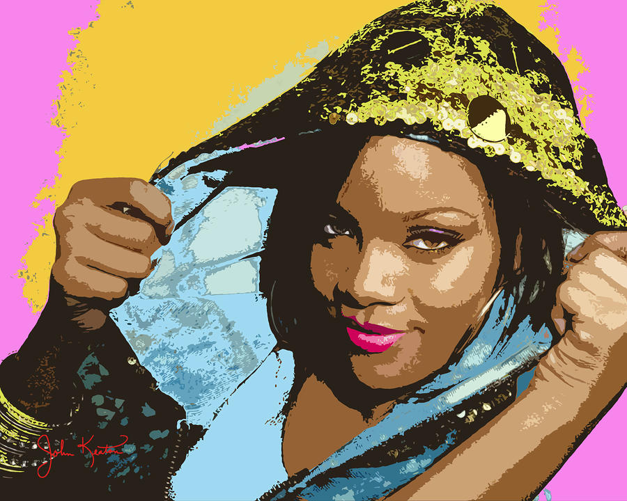 Rihanna Digital Art