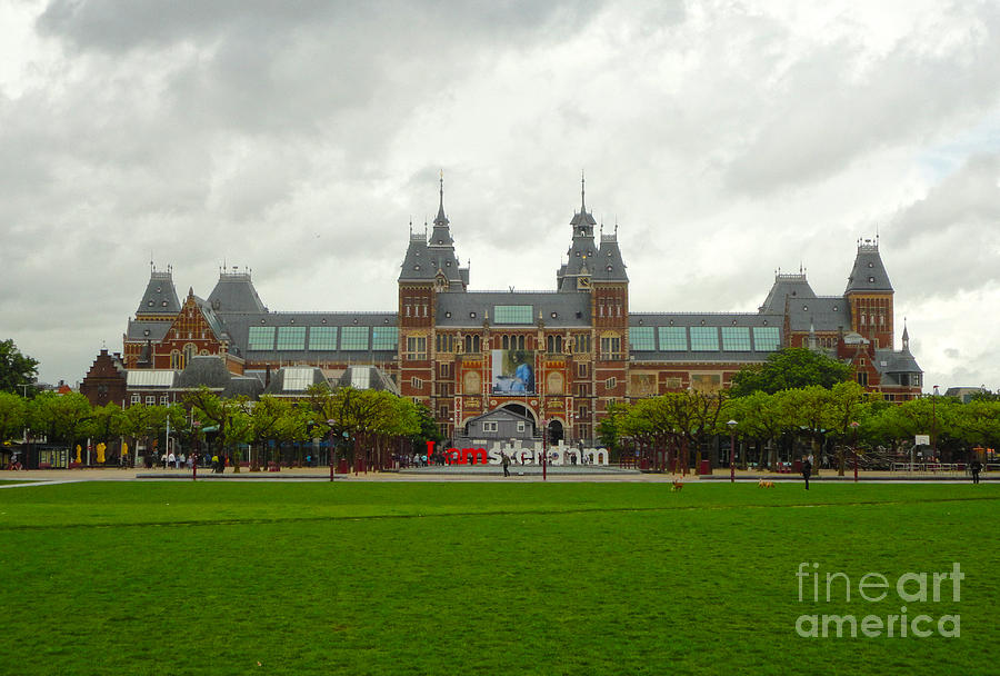 Amsterdam Photograph - Rijksmuseum- 04 by Gregory Dyer