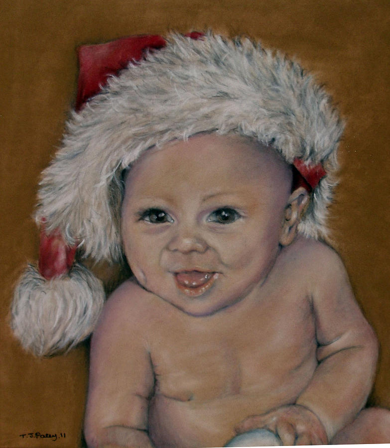 Baby Painting - Riley by Tanya Patey