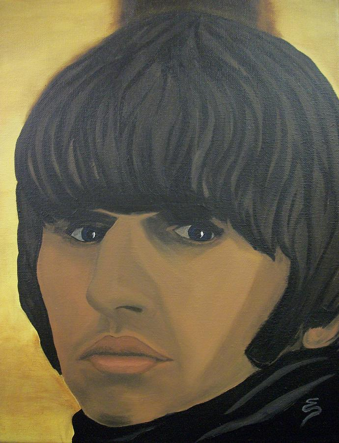 Ringo Star  Beatles For Sale Painting