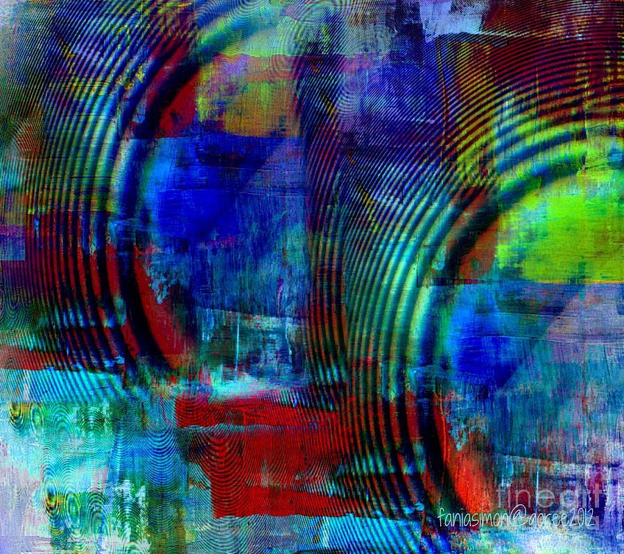 Rings And Echo Mixed Media