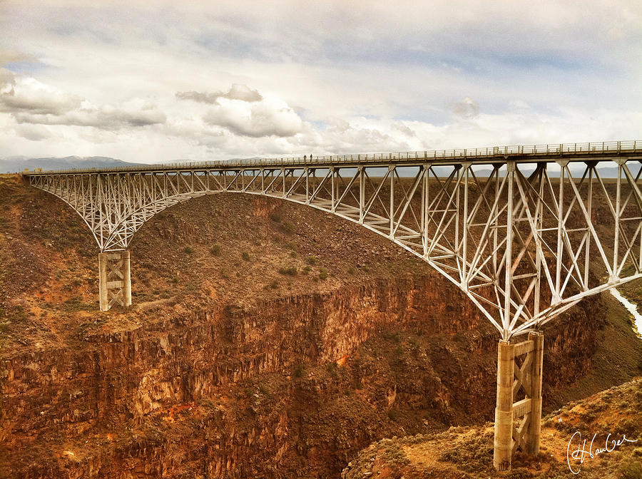 Rio Grande Gorge Bridge Photograph