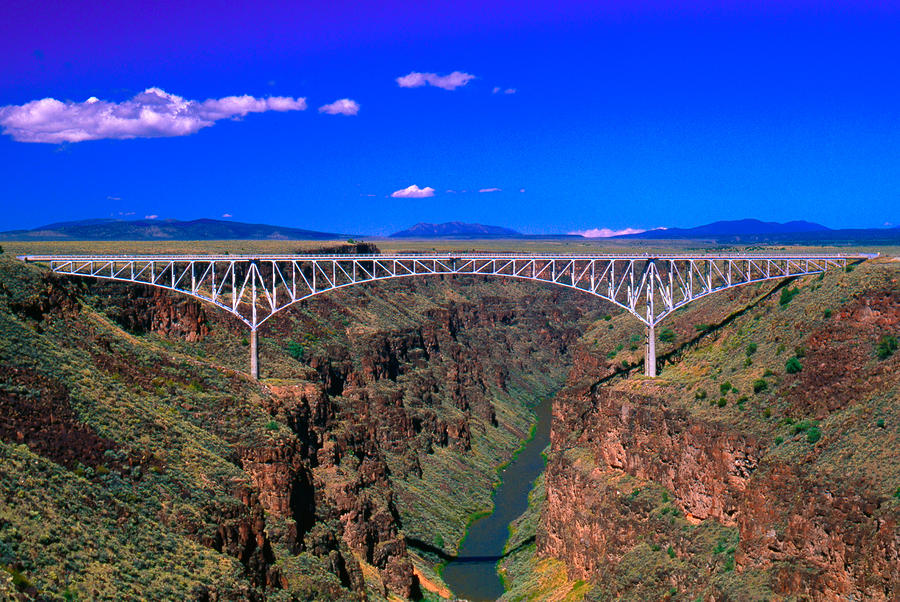 Rio Grande Gorge Bridge Taos County Nm Photograph