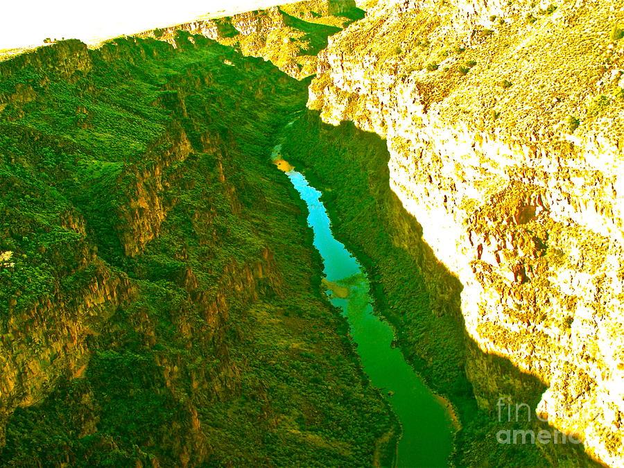 Rio Grande Gorge Photograph