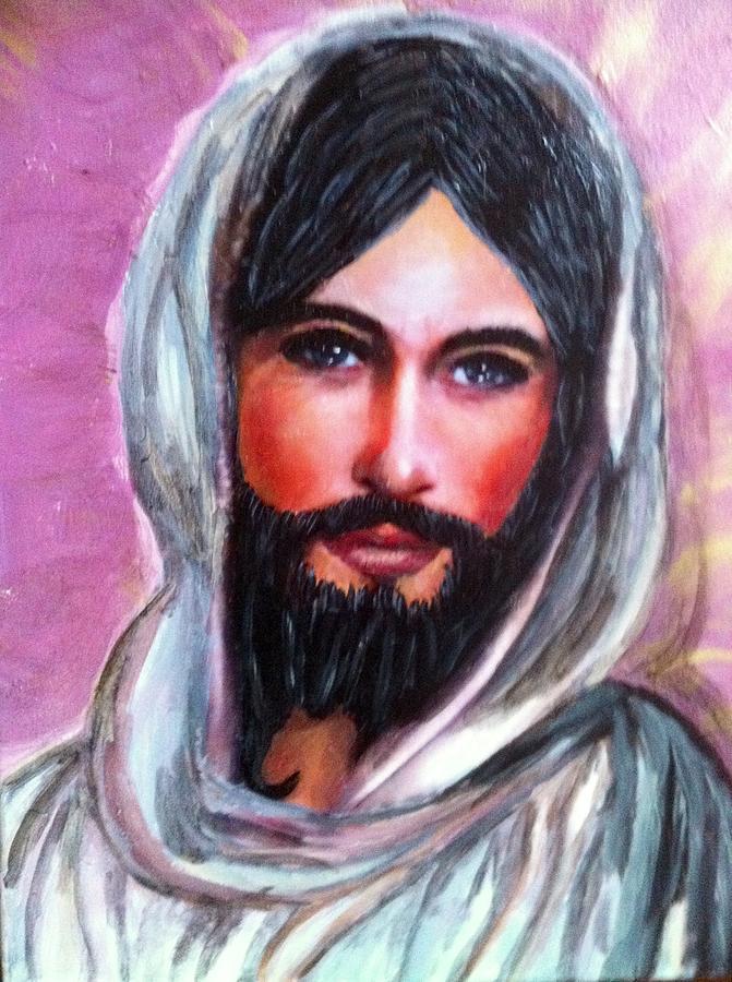 Risen Jesus  Painting