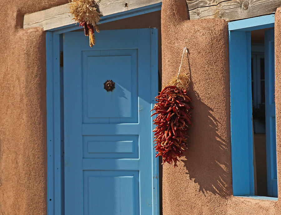 Ristra At Rancho De Taos Photograph  - Ristra At Rancho De Taos Fine Art Print