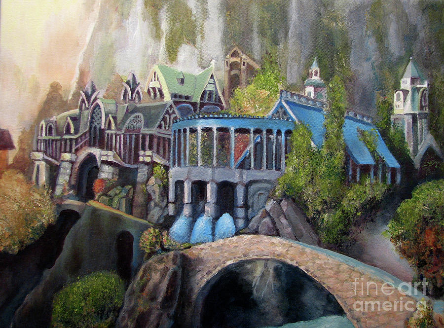 Rivendell Painting  - Rivendell Fine Art Print