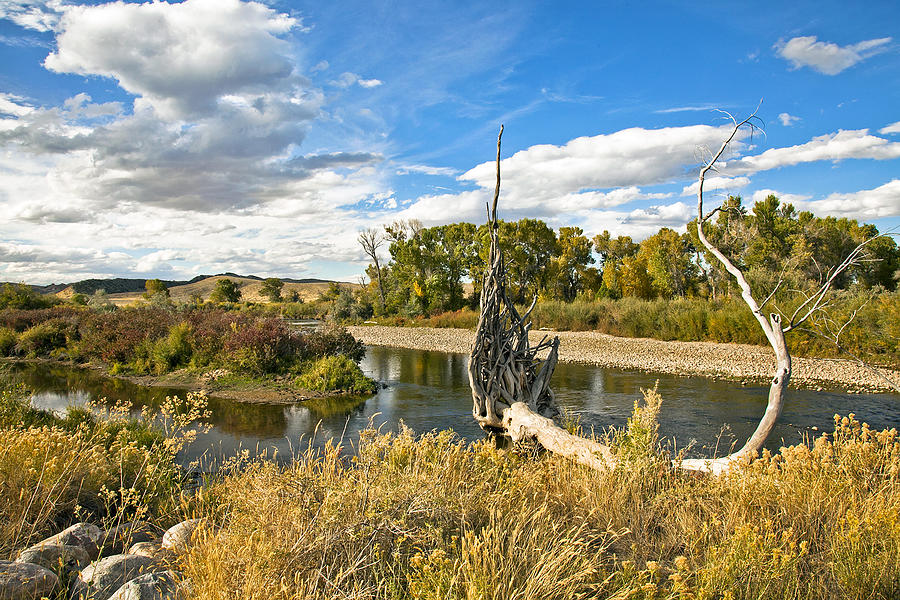 River At Hudson Wy. Photograph