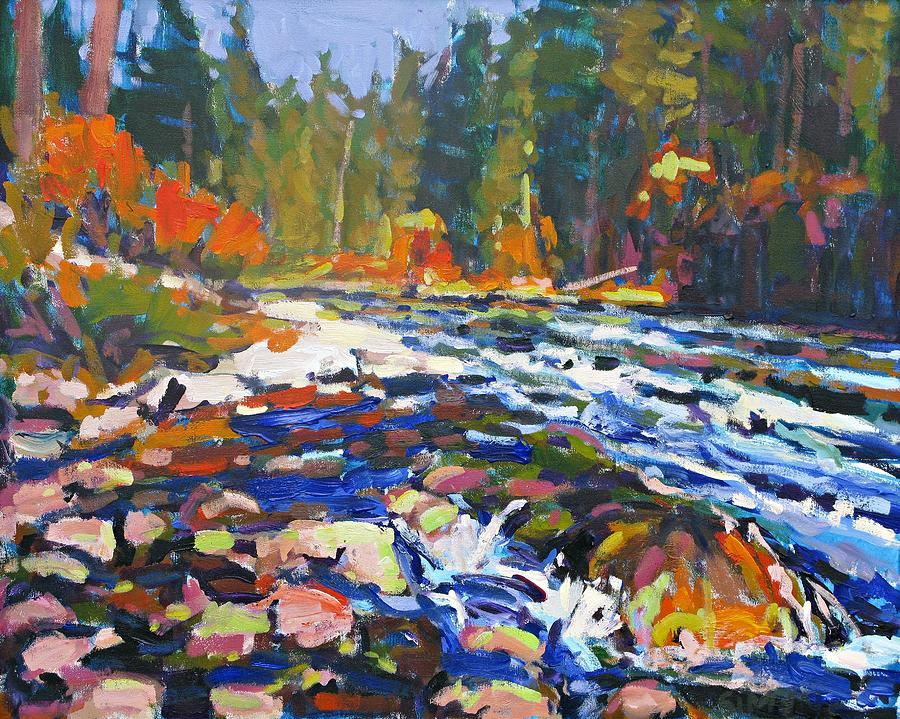 River Painting  - River Fine Art Print